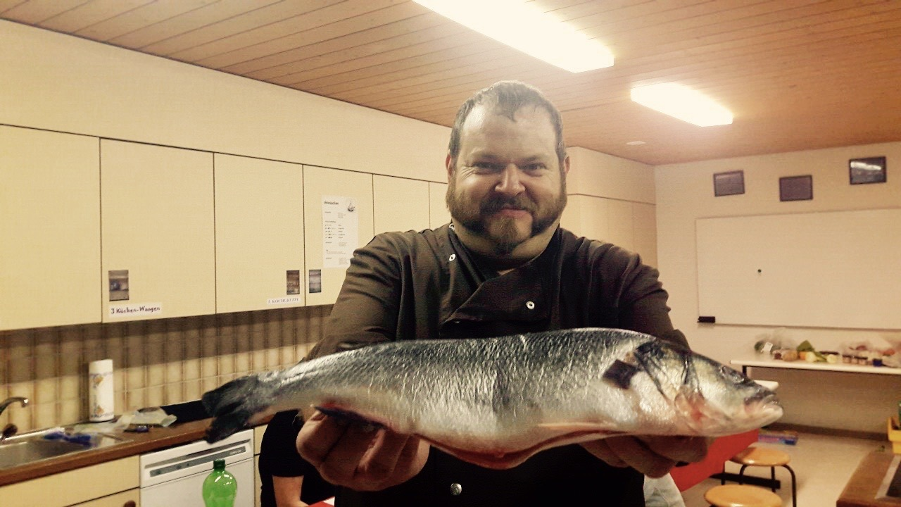 Wumba Fisch, der «Fisch mit Scharm»